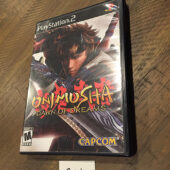 Onimusha: Dawn of Dreams PlayStation 2 CAPCOM + Original Guide (2006) [B44]