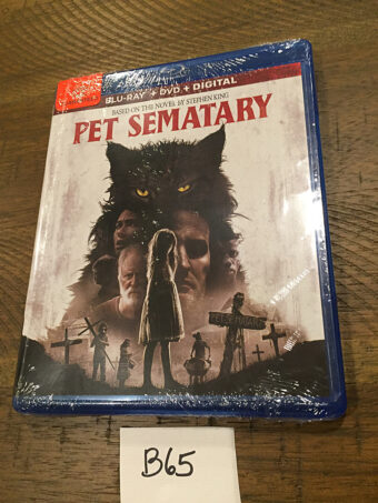 Pet Sematary Blu-ray + DVD Edition (2019) [B65]