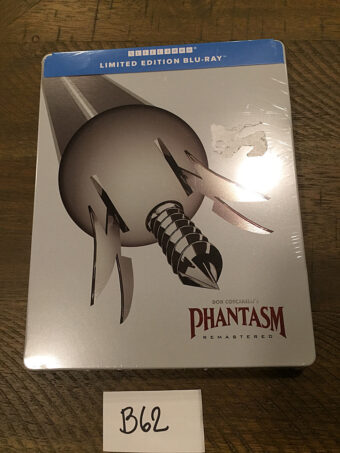 Phantasm: Remastered Steelbook Blu-ray Limited Edition (2018) [B62]