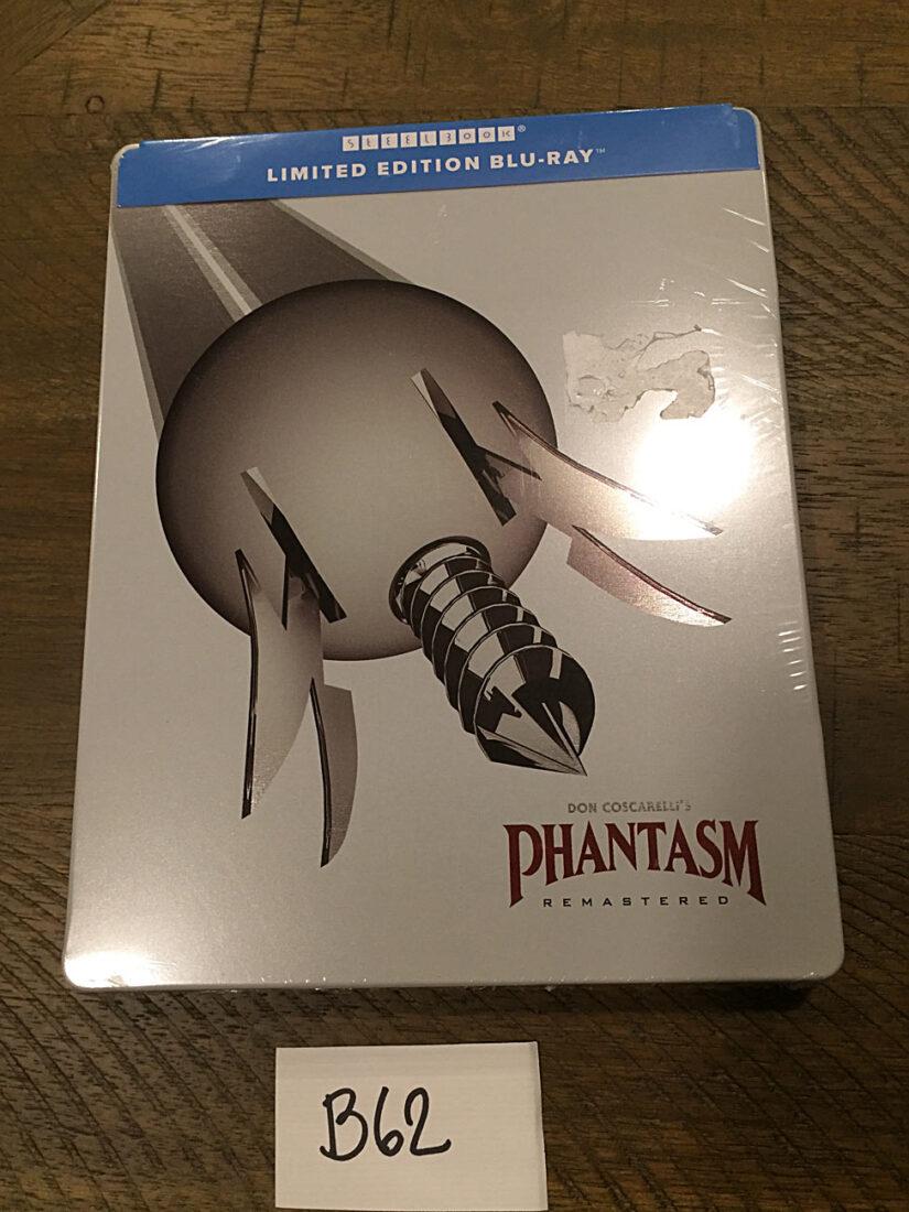 Phantasm: Remastered Steelbook Blu-ray Limited Edition (2018) [B62]