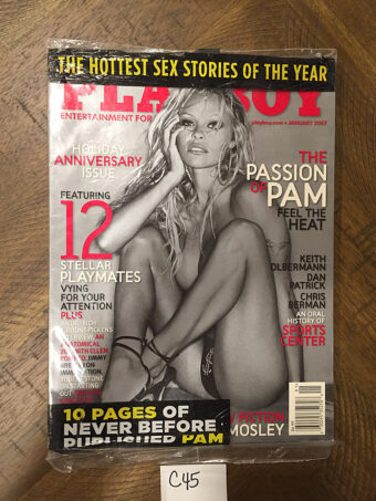 SEALED Playboy Magazine Holiday Anniversary Issue (January 2007) Pamela Anderson [C45]
