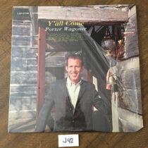 Porter Wagoner Y'all Come Vinyl Edition LSP-2706 (1963) [J42]