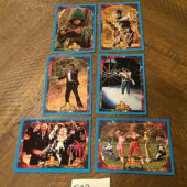 Mighty Morphin Power Rangers Set of 6 Trading Cards [B22]