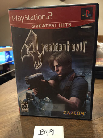 Resident Evil 4 Greatest Hits PS2 Sony PlayStation 2 with Manual (2005) [B49]