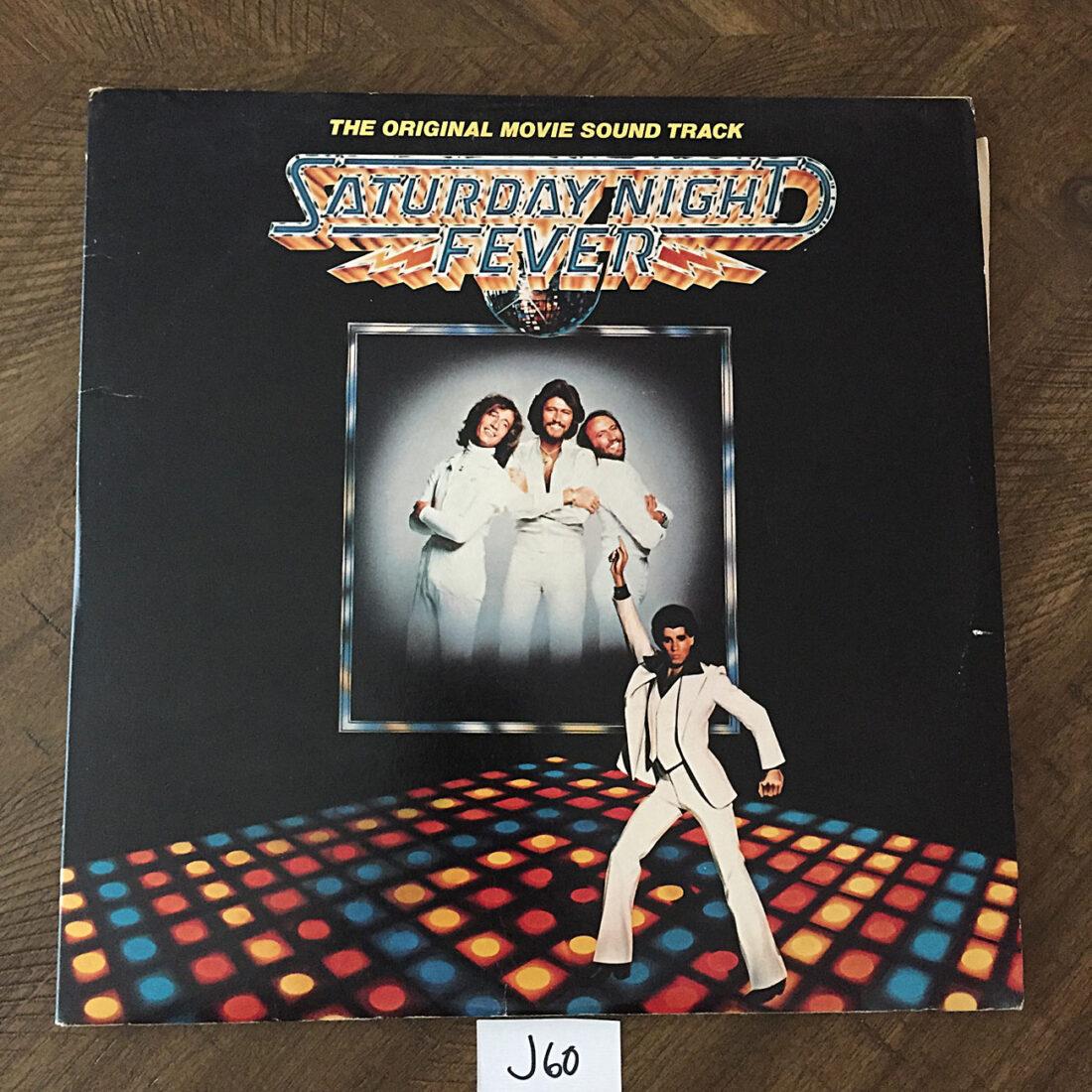 Saturday Night Fever The Original Movie Soundtrack 2-LP Vinyl Edition (1977) [J60]