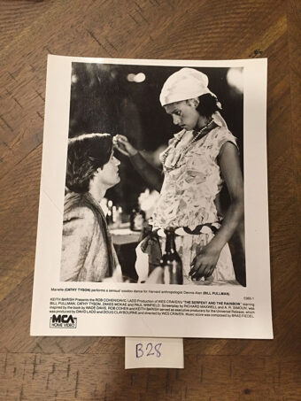 The Serpent and the Rainbow Original Home Video Press Photo (1988) [B28]