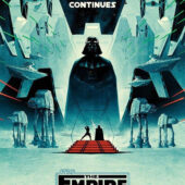 Star Wars: Episode V – The Empire Strikes Back 22 x 34 Inch 40th Anniversary Limited Edition Movie Poster