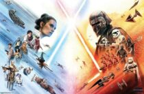 Star Wars: Episode IX – The Rise of Skywalker 34 x 22 inch Horizontal Alternate Movie Poster