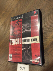 Tenchu: Wrath of Heaven with Manual (PS2, PlayStation 2, 2003) Activision [B57]