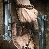 The Boondock Saints Guns Duel 24 x 36 Movie Poster
