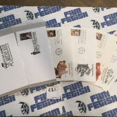Set of 18 Black History Culture US Postage Stamp First Day Cover Cancelled Envelops [C21]