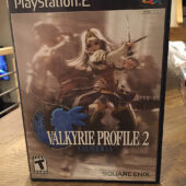 Valkyrie Profile 2: Silmeria with Manual (SLUS 21452, PlayStation 2, 2006) Square Enix [B48]