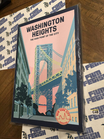 Washington Heights New York City, Manhattan 12×18 inch Officially Licensed Canvas Print [C28]