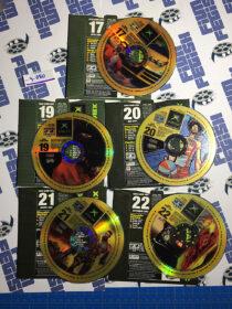 Set of 5 Official X Box Magazine Game Demo Discs No. 17, 19, 20, 21, 22 [9080]