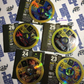 Set of 5 Official X Box Magazine Game Demo Discs No. 23, 24, 25, 26, 27 [9079]