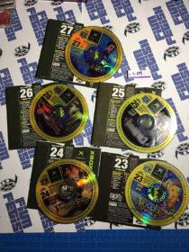 Set of 5 Official X Box Magazine Game Demo Discs No. 23, 24, 25, 26, 27 [9079]