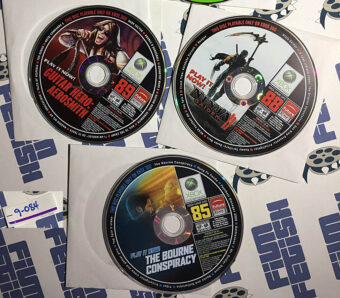 Set of 3 Official X Box Magazine X Box 360 Game Demo Discs No. 85, 88, 89 [9084]