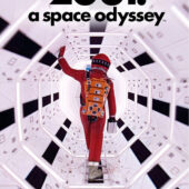 2001: A Space Odyssey 24 x 36 inch Walk Movie Poster