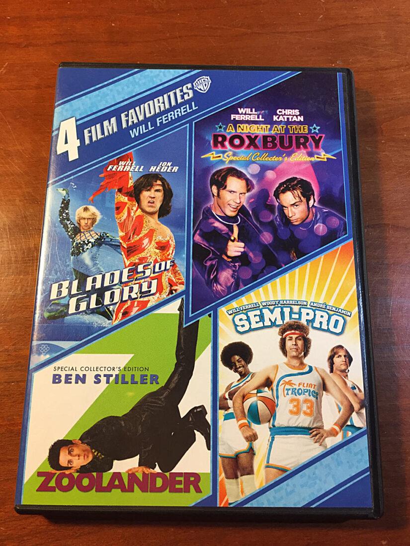 Will Ferrell: Warner Bros. 4 Film Favorites – Blades of Glory, Zoolander, Semi-Pro, A Night at the Roxbury