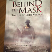 Behind the Mask: The Rise of Leslie Vernon 17×22 inch Original Movie Poster (2007) [D66]