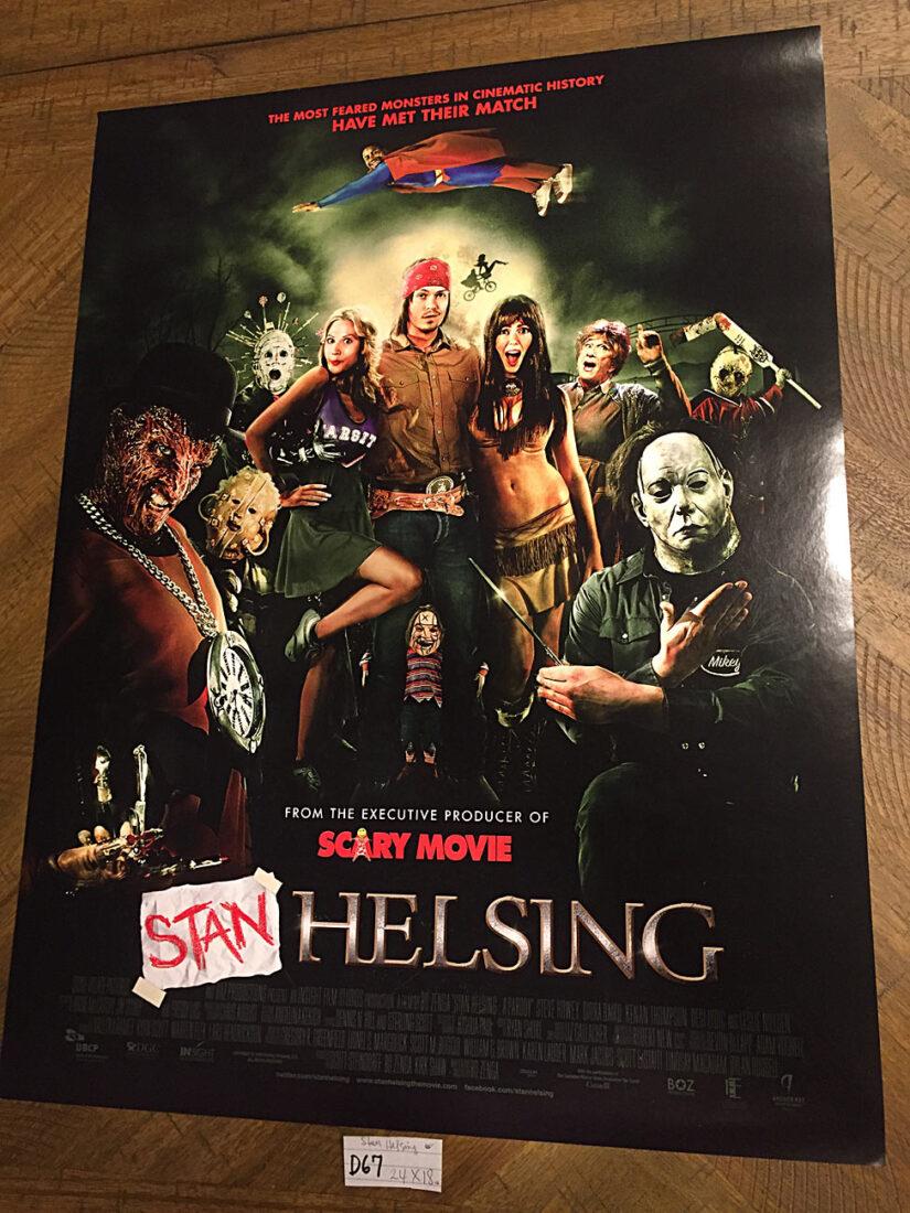 Stan Helsing 18×24 inch Original Movie Poster (2009) [D67]