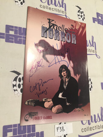 Brielle and the Horror Comic Book No. 1 Signed by Creators (2007) [F38]