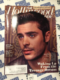 The Hollywood Reporter Batman 75th Anniversary Special Article Zac Efron Cover (May 9, 2014) [E97]