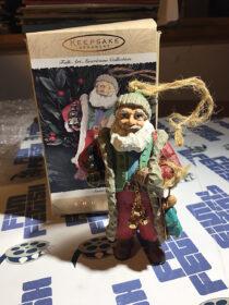 Hallmark Keepsake Ornament: Folk Art Americana Collection Santa's Gifts Showcase (1996)