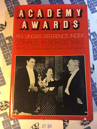 Academy Awards: An Ungar Reference Index (1978)