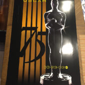 75th Annual Academy Awards 27 x 40 inch Official Poster (2003) [D59]