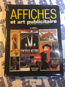 Affiches et art publicitaire (1987) French poster and advertising art reference