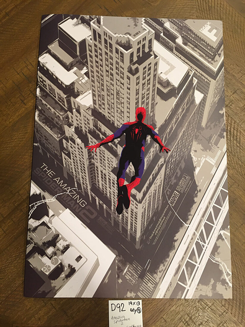 The Amazing Spider-Man 2 AMC Exclusive 13×19 inch Movie Poster (2014) [D92]