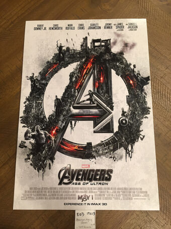 Avengers: Age of Ultron 13×19 inch IMAX Exclusive Movie Poster (2015) [E03]
