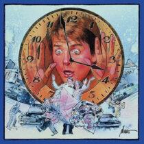 Back to the Future 35th Anniversary Original Soundtrack Silver Vinyl Edition