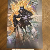 Batman 11 x 17 inch Comic Art Poster Signed by Artist Ken Lashley [D60]