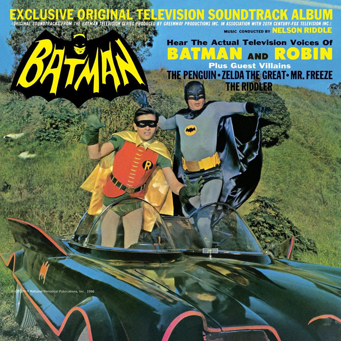 Batman Classic Television Series Exclusive Original Television Soundtrack Album Limited Vinyl Edition
