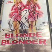 Blonde and Blonder DVD Autographed