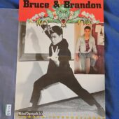 Bruce and Brandon Lee 11×15 inch Foldout Poster Karate International Magazine