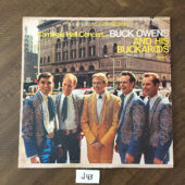 Buck Owens and his Buckaroos Carnegie Hall Concert with – Vinyl Stereo Edition [J43]