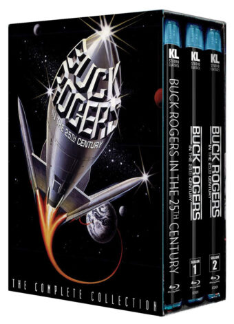 Buck Rogers in the 25th Century: The Complete Collection 9-Disc Blu-ray Box Set (2020)