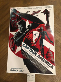 Captain America: The Winter Soldier 13×19 inch IMAX Exclusive Movie Poster (2014) [D93]