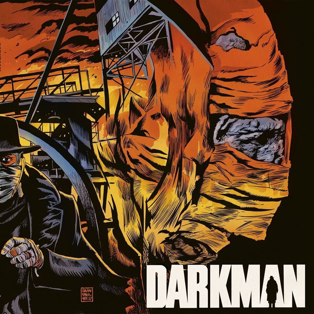 Darkman Original 1990 Motion Picture Score Vinyl Edition with Art Print