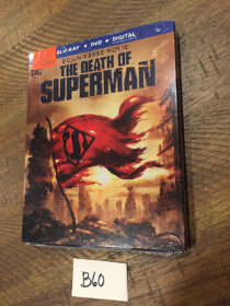 The Death of Superman DC Universe Animated Movie Blu-ray + DVD + Digital with Slipcover [B60]