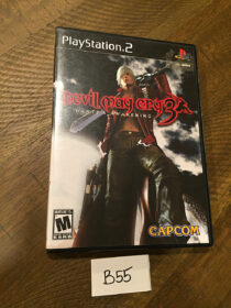 Devil May Cry 3: Dante's Awakening PlayStation 2 PS2 with Manual [B55]