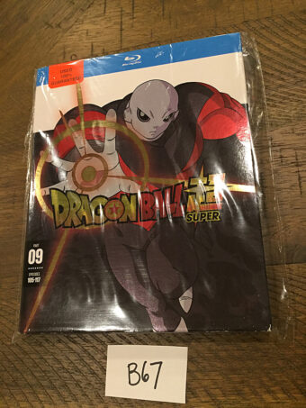 Dragonball Super – Part 09 Episodes 105-117 Blu-ray Edition with Slipcover [B67]
