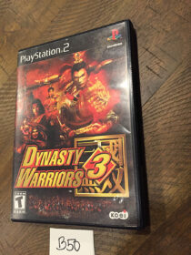 Dynasty Warriors 3 PlayStation 2 PS2 with Manual [B50]