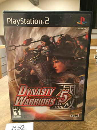 Dynasty Warriors 5 PlayStation 2 PS2 with Manual [B52]