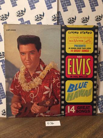Elvis Presley Blue Hawaii Soundtrack Album Original Vinyl Edition LSP 2426 (1961) [E36]