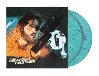 John Carpenter's Escape From New York Expanded Original Motion Picture Score 2-Disc Vinyl Gatefold Edition + Photo Booklet (2020)