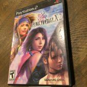 Final Fantasy X-2 PlayStation 2 PS2 with Manual Square Enix [B46]